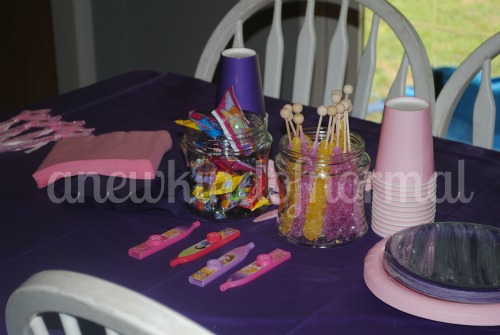 Abby's Birthday Party Decor